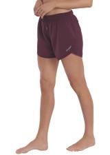 Evie Longer Length Training Short - Rumba Red
