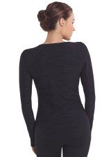 Oxygen Long Sleeve Top - Black