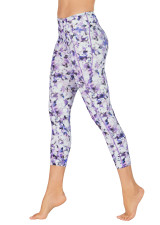 Blossoming Purple Dual Pocket 7/8 Tight