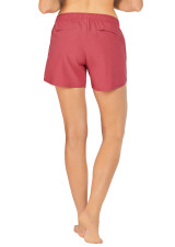 Evie Longer Length Training Short - Cinnabar