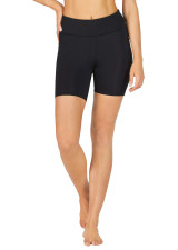 Run Swim Active Dual Pocket Mid-Thigh Tight