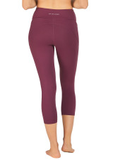Carrera Dual Pocket 7/8 Tight - Mauve Wine