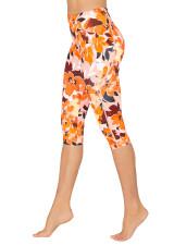 Hibiscus Sunset Dual Pocket 3/4 Tight