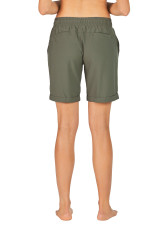 Wanda Longer Length Short - Olive