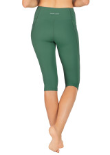 Abi Dual Pocket 3/4 Tight - Mallard Green