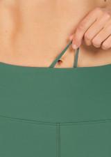 Abi Dual Pocket 3/4 Tight - Mallard Green