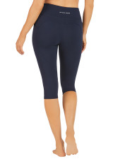 Bella Dual Pocket 3/4 Tight-Deep-Navy