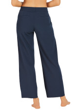 Work Commute Full Length Pant-Navy
