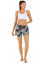 Evie Longer Length Training Short-Lush-Exotics