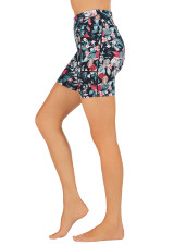 Endurance Dual Pocket Mid-Thigh Tight-Magnificent-Botanics