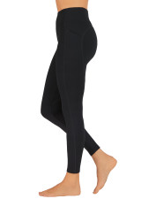 BELLA DUAL POCKET FULL LENGTH TIGHT-Black