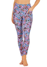 Liquid Bloom Dual Pocket Full Length Tight