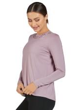 Swift Long Sleeve Top-Dusty Purple