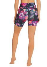 Run Swim Active Dual Pocket Mid-Thigh Tight-Picturesque