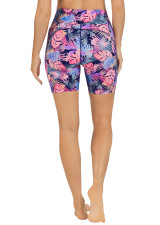 RUN SWIM ACTIVE DUAL POCKET MID-THIGH TIGHT-Living-In-Paradise