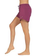 Evie Longer Length Training Short-PLUM-CASPIA