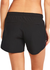 Evie Longer Length Training Short - Black
