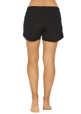 Momentum High Performance Short with Internal Short Tight - Black