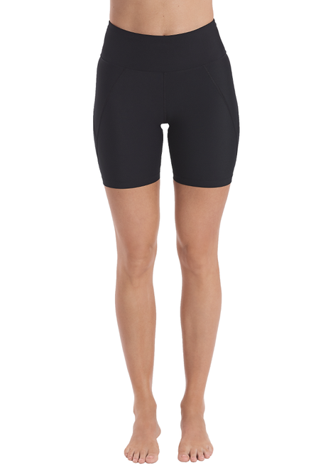 Run Swim Mid-Thigh Tight