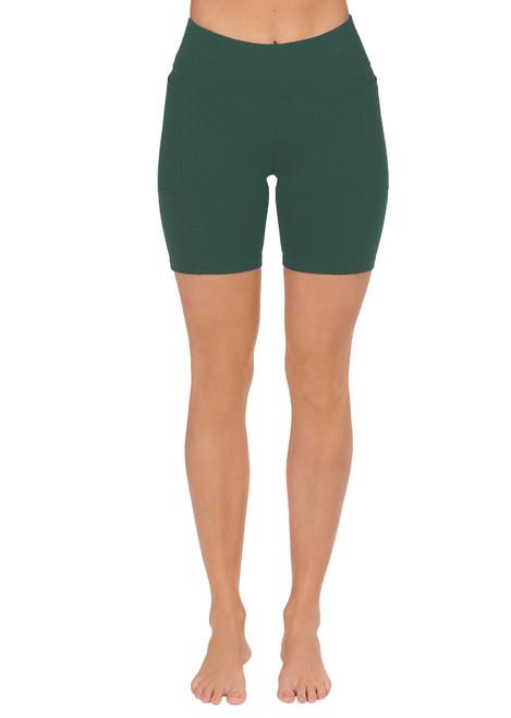 Endurance Dual Pocket Mid-Thigh Tight