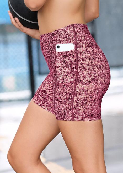 Teen Endurance Dual Pocket Mid-Thigh Tight-Imprint