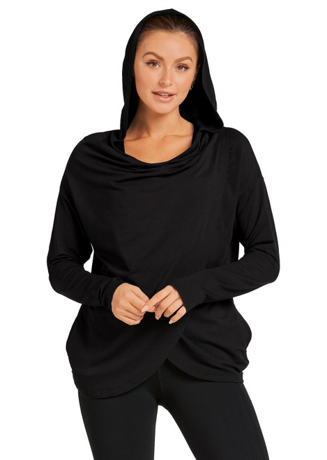 Wrapped Up Hooded Jumper