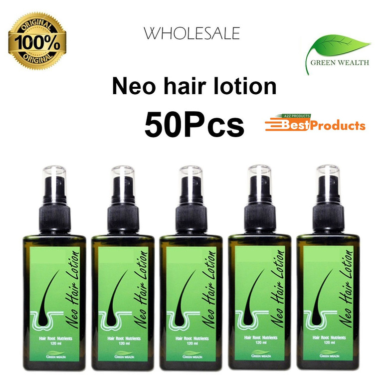 Neo Hair Lotion 100% Original Hair Growth Oil for Mens (Pack of 50)