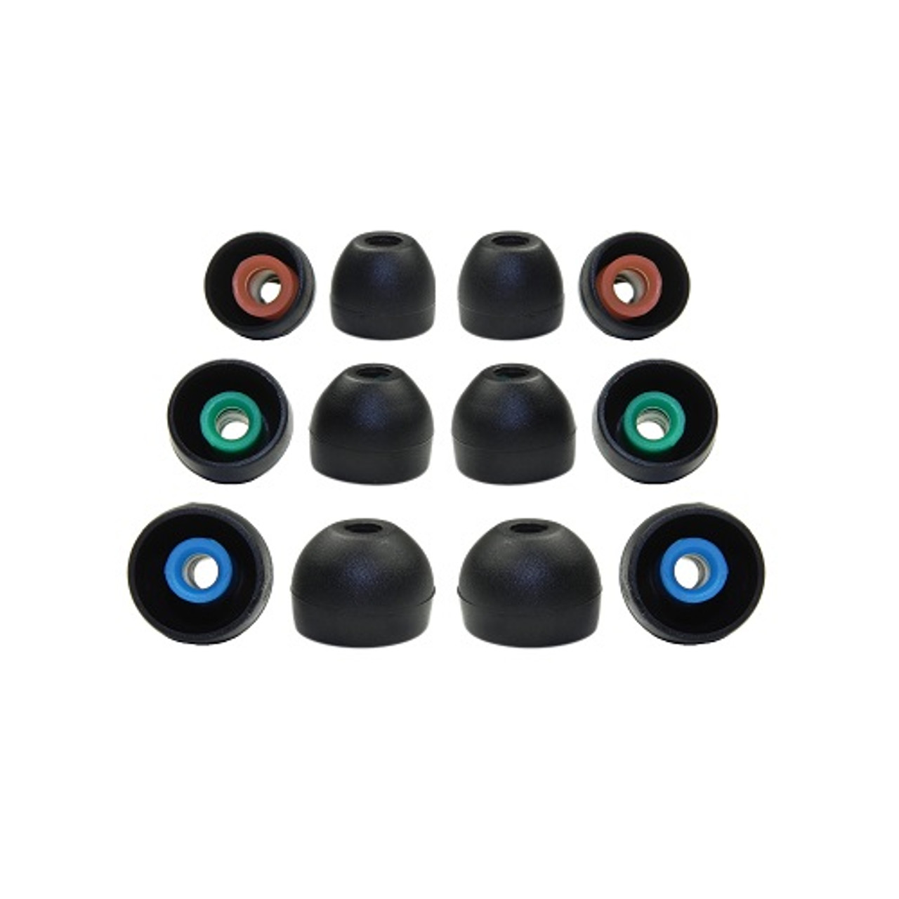6 pair Jaybird Freedom 2 replacement ear tips jaybird freedom 2 ear tips foam