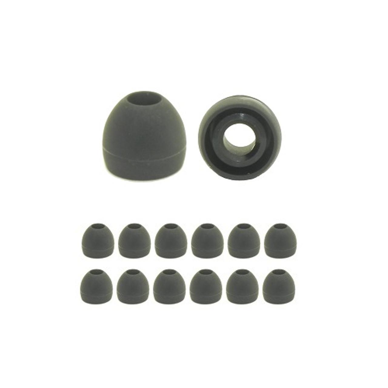 6 Memory foams Earbud Ear Tips for ALTEC LANSING BackBeat,Bliss,Muzx,MZX399-DR