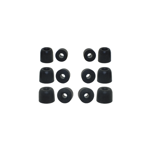 6 pairs of memory foam ear tips for KZ earbuds