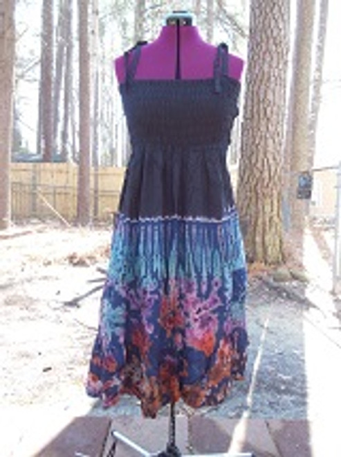 Electric Black Dress Skirt