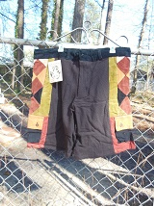 Diamond Patchwork Shorts (large)