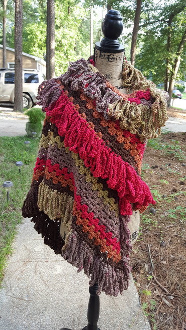 Hippie Shawl Fall Delight