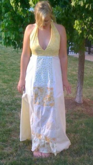 Lemon Garden Bridesmaid Dress