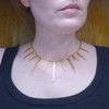 24kt Sunray Necklace by Gurhan