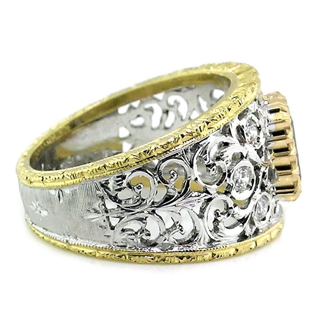 Alexandrite Contessa Ring