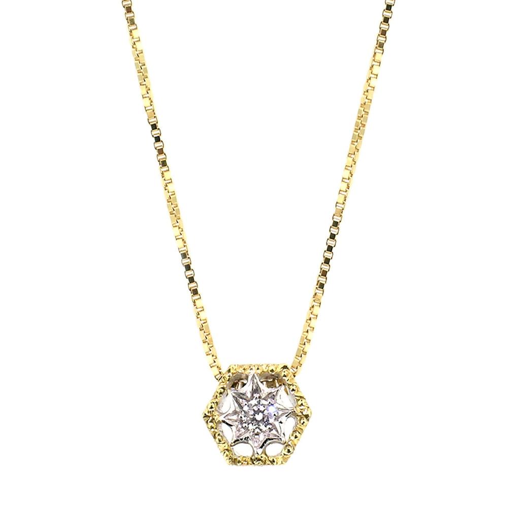Single Honeycomb Necklace