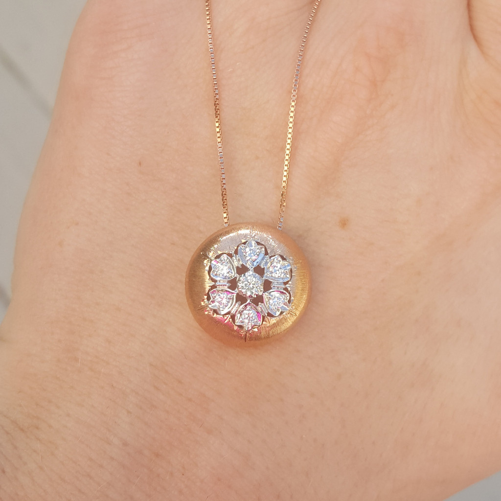Liliana Diamond & 18kt Necklace