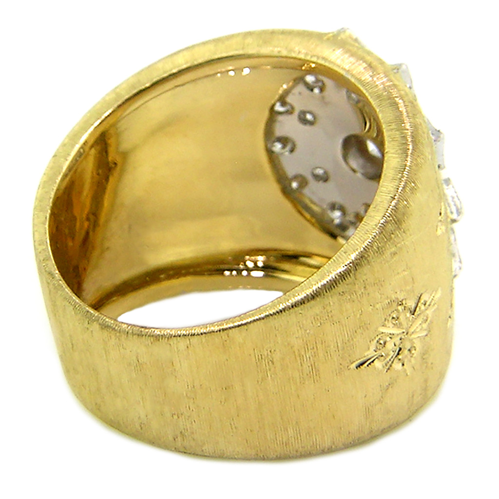 Stella Diamond 18kt Ring made in Florence, Italy for Cynthia Scott Jewelry