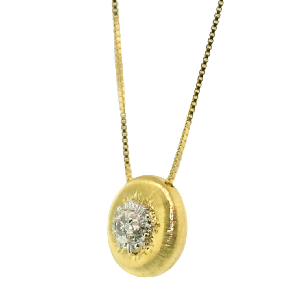 Valentina Diamond 18kt Necklace made in Florence, Italy for Cynthia Scott Jewelry
