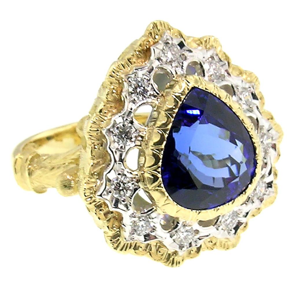 Tanzanite Giulia Ring