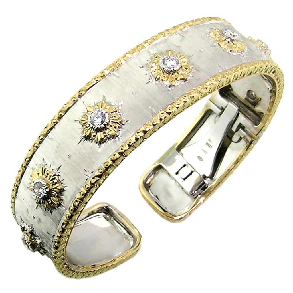 Donatella Diamond Cuff