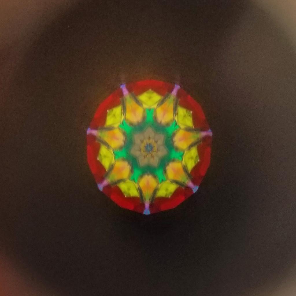 Woven Kaleidoscope Necklace
