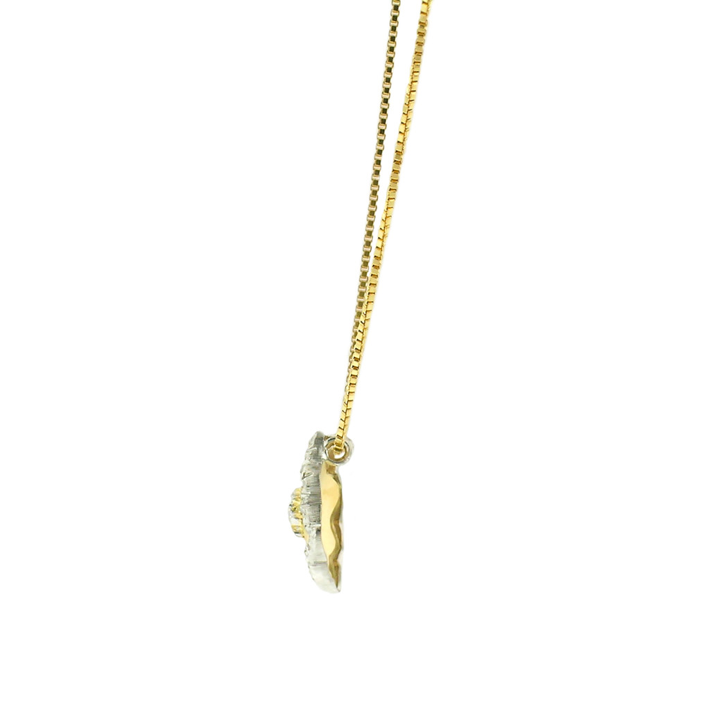 Piccola Diamond 18kt Necklace made in Florence, Italy for Cynthia Scott Jewelry