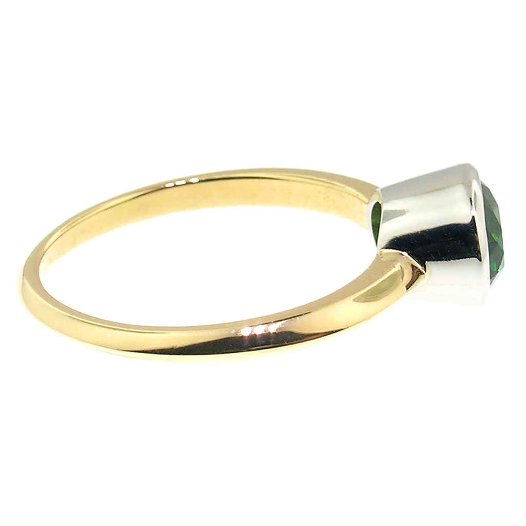 Chrome Tourmaline Paloma Ring by Cynthia Scott Jewelry