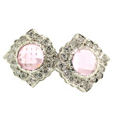 Maine Tourmaline Diamond 18kt Alessia Earrings made in Florence, Italy by Cynthia Scott Jewelry