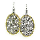 Sofia Diamond 18kt Earrings made in Florence, Italy for Cynthia Scott Jewelry