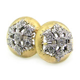 Liliana Diamond 18kt Earrings made in Florence, Italy for Cynthia Scott Jewelry