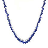 Sapphire Briolette Necklace by Dan Peligrad for Cynthia Scott Jewelry