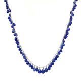 Sapphire Briolette Necklace by Dan Peligrad for Cynthia Scott Jewelry